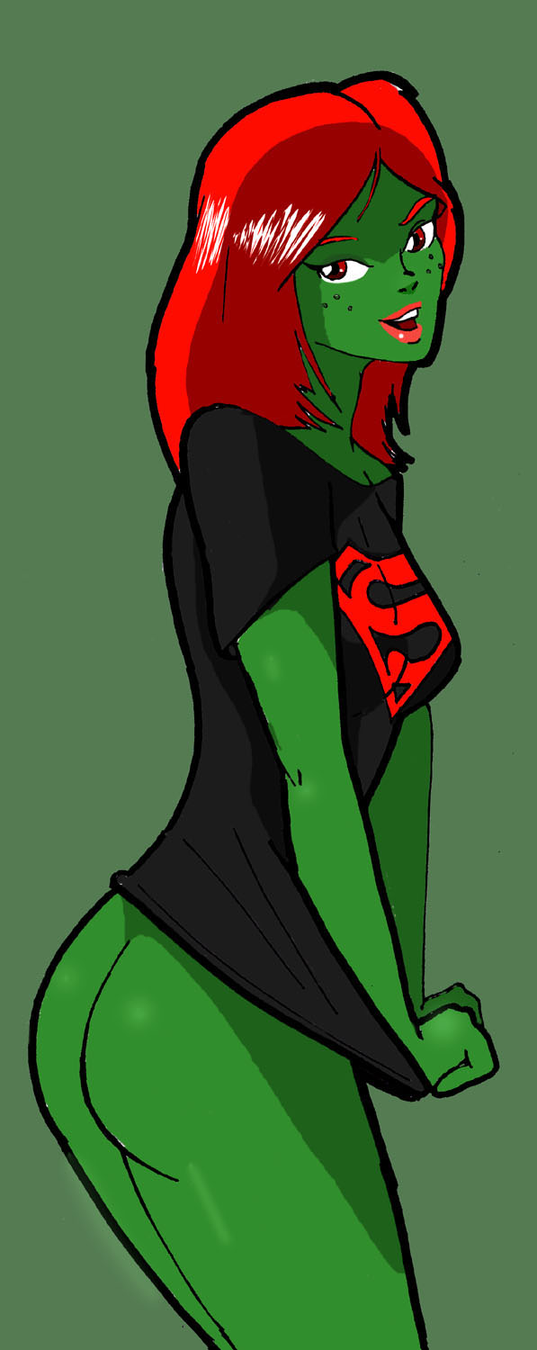 miss young martian form justice true Vine girl my hero academia