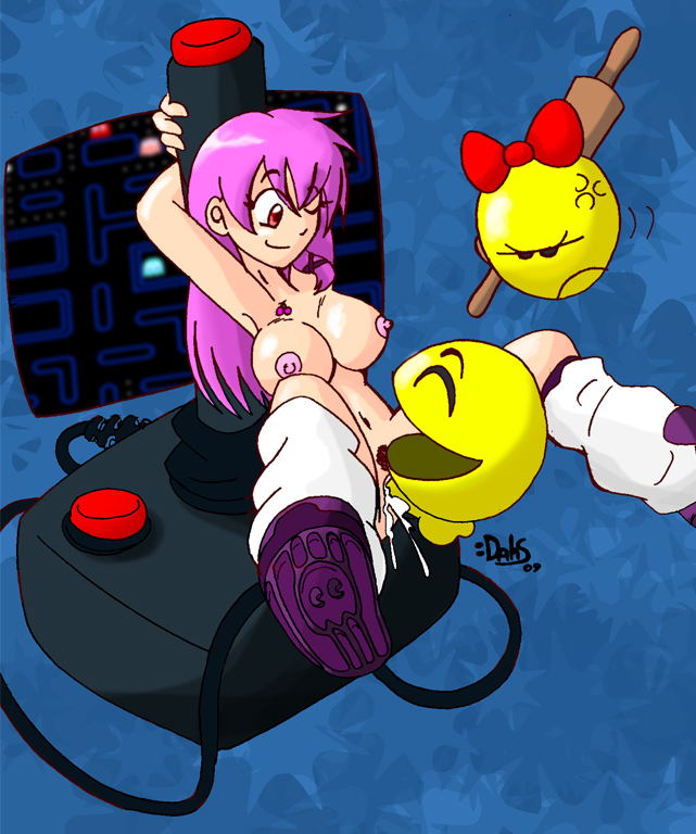 by pac-man minus8 animation ghosts High school of the dead sex scene