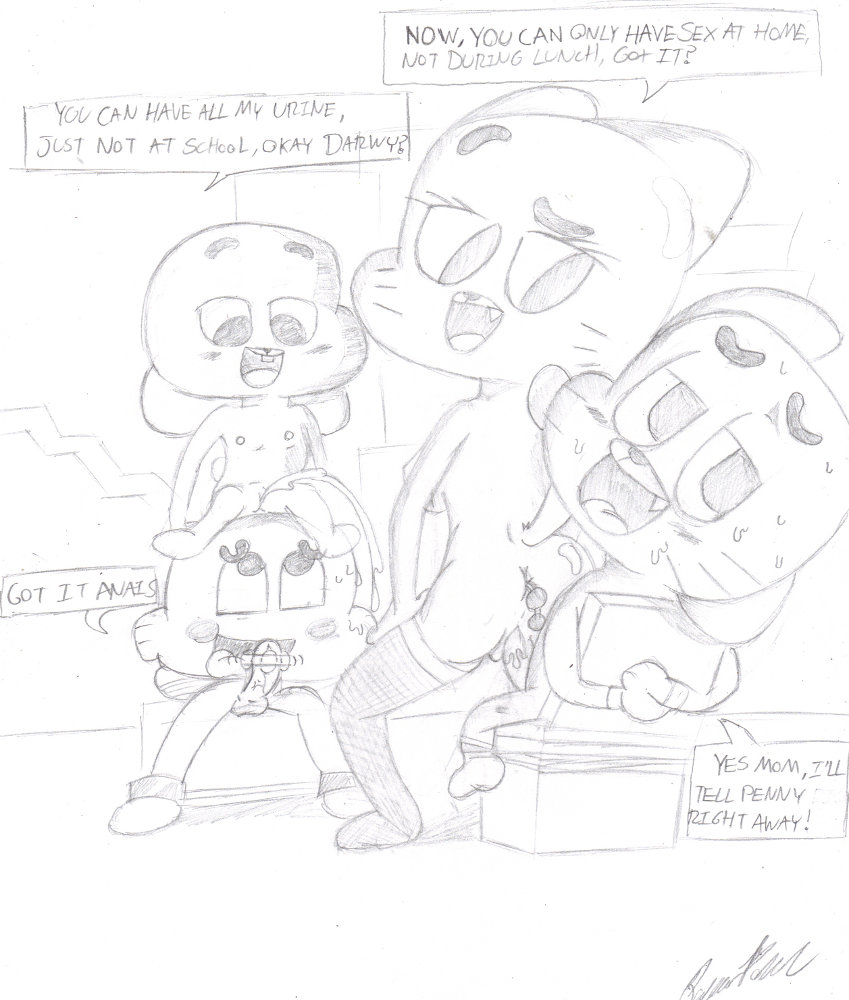 gumball world amazing louie of Why does tony the tiger have a blue nose