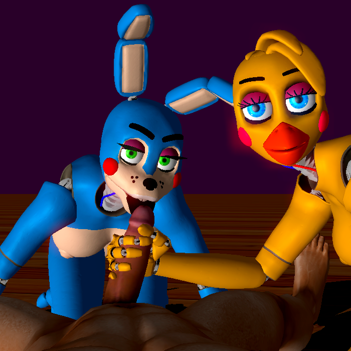 freddy bonnie toy toy vs Goku and android 18 lemon