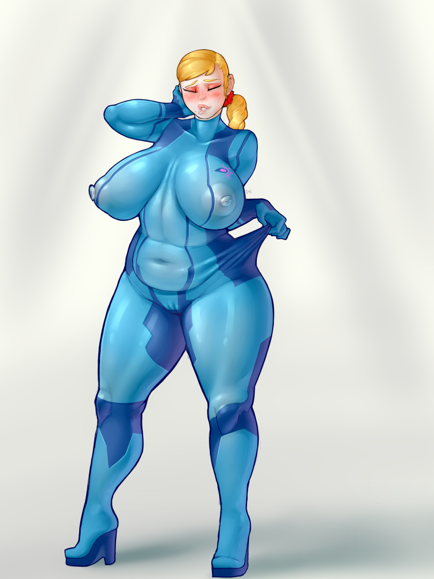 suit tied samus zero up Rule if it exists there's