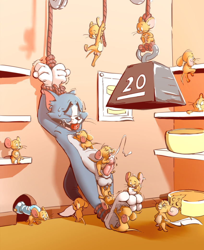 muscle jerry mouse tom and Nobody in particular family duties
