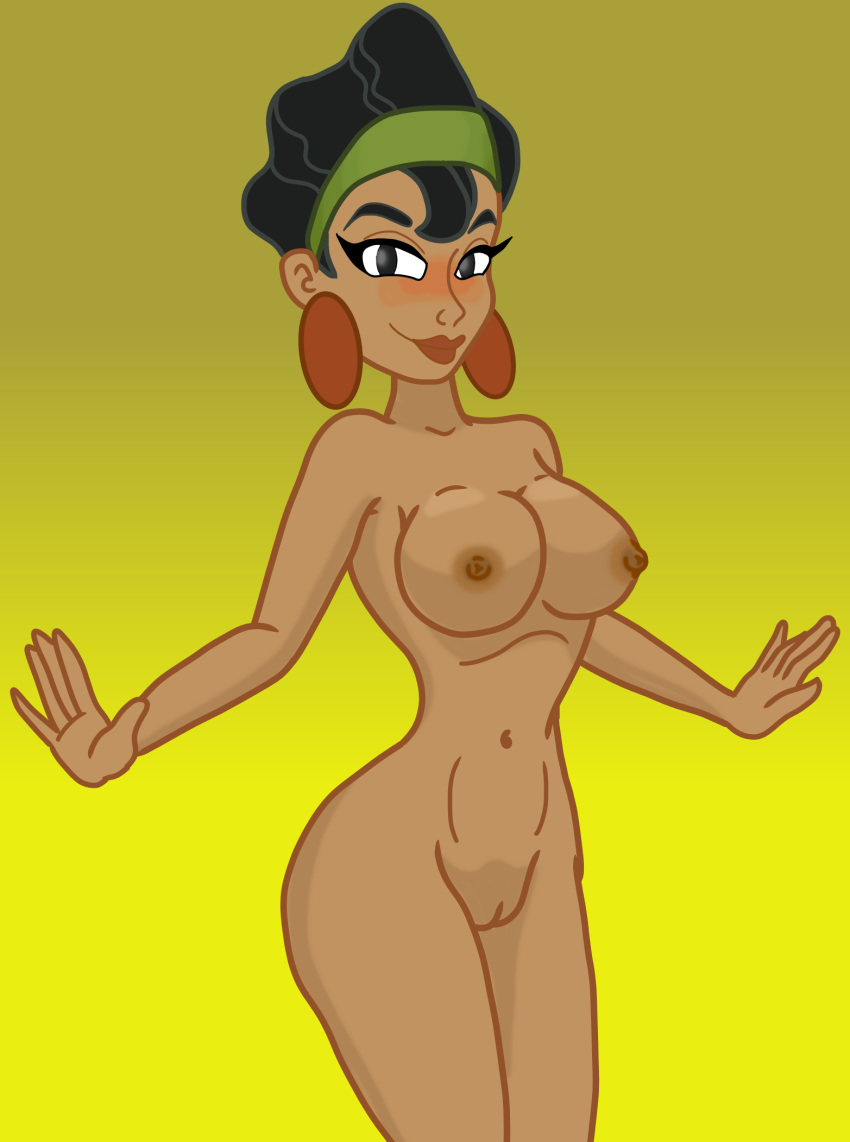 hentai emperor's new groove the Girl gets filled with horse cum
