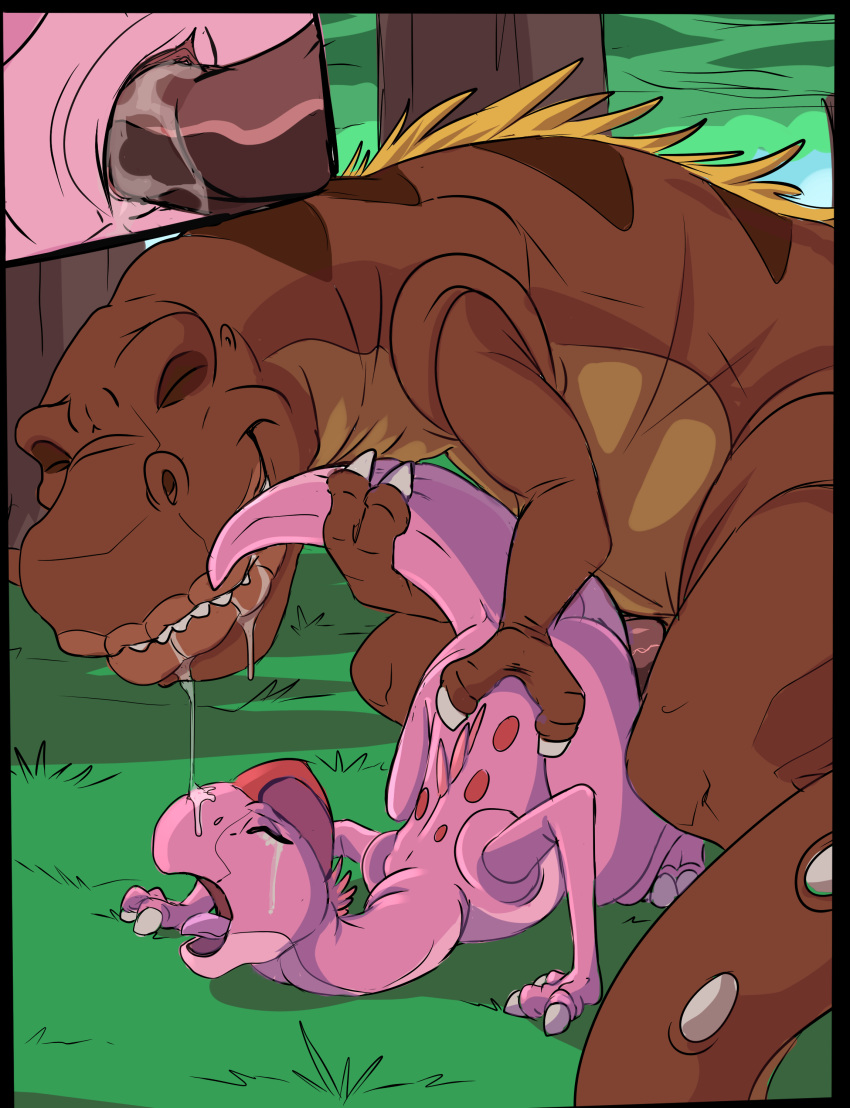 land time before dinosaur pink Leave it to beaver porn comic